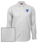 Red House White Diamond Dobby Long Sleeve Shirt-Panther Head