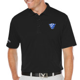 Callaway Opti Dri Black Chev Polo-Panther Head