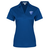 Ladies Royal Performance Fine Jacquard Polo-Panther Head