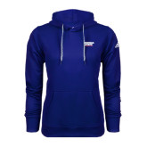 Adidas Climawarm Royal Team Issue Hoodie-Georgia State Wordmark