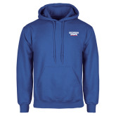 Royal Fleece Hood-Georgia State Wordmark