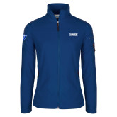 Columbia Ladies Full Zip Royal Fleece Jacket-2018 Mens Basketball Champs