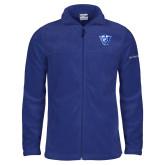 Columbia Full Zip Royal Fleece Jacket-Panther Head