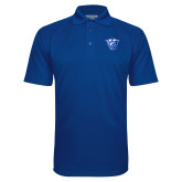 Royal Textured Saddle Shoulder Polo-Panther Head