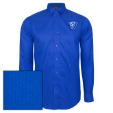 Red House French Blue Dobby Long Sleeve Shirt-Panther Head