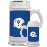 Full Color Decorative Ceramic Mug 22oz-Panther Head Football Helmet