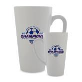 Full Color Latte Mug 17oz-2018 Georgia State Mens Soccer Champions