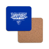 Hardboard Coaster w/Cork Backing-2018 Tournament Champions