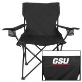 Deluxe Black Captains Chair-GSU
