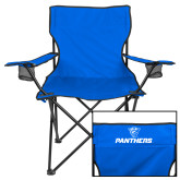 Deluxe Royal Captains Chair-Panthers w/ Panther Head