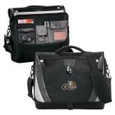 Slope Black/Grey Compu Messenger Bag-Geneva Tornado