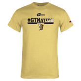 Champion Vegas Gold T Shirt-GTNation