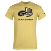 Champion Vegas Gold T Shirt-Track and Field