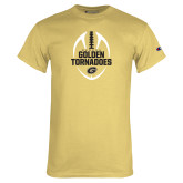 Champion Vegas Gold T Shirt-Golden Tornadoes Football