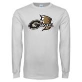 White Long Sleeve T Shirt-Geneva Tornado