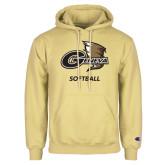 Champion Vegas Gold Fleece Hoodie-Softball