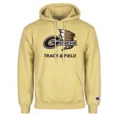 Champion Vegas Gold Fleece Hoodie-Track and Field