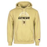Champion Vegas Gold Fleece Hoodie-Geneva Volleyball Half Ball
