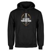 Black Fleece Hoodie-Golden Tornadoes Football