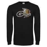 Black Long Sleeve T Shirt-Geneva Tornado