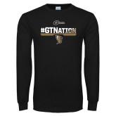 Black Long Sleeve T Shirt-GTNation