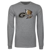 Grey Long Sleeve T Shirt-Geneva Tornado