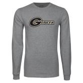Grey Long Sleeve T Shirt-Geneva