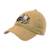 Vegas Gold Twill Unstructured Low Profile Hat-Geneva Tornado