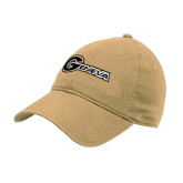 Vegas Gold Twill Unstructured Low Profile Hat-Geneva
