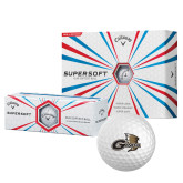 Callaway Supersoft Golf Balls 12/pkg-Geneva Tornado