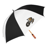 62 Inch Black/White Vented Umbrella-Geneva Tornado