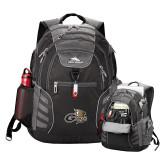 High Sierra Big Wig Black Compu Backpack-Geneva Tornado