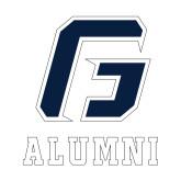 Alumni Decal-Alumni, 6 in. tall