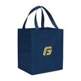Non Woven Navy Grocery Tote-G