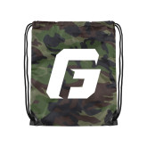Camo Drawstring Backpack-G