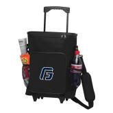 30 Can Black Rolling Cooler Bag-G