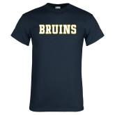 Navy T Shirt-Bruins