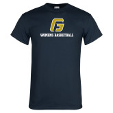 Navy T Shirt-Basketball-Women's