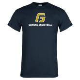 Navy T Shirt-Basketball-Women's