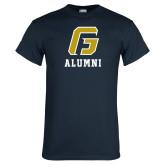 Navy T Shirt-Alumni