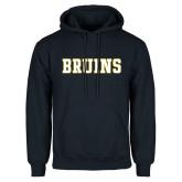 Navy Fleece Hoodie-Bruins