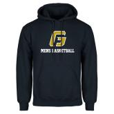 Navy Fleece Hoodie-Basketball-Men's
