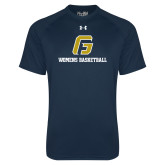 Under Armour Navy Tech Tee-Basketball-Women's