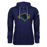 Adidas Climawarm Navy Team Issue Hoodie-Bear Head
