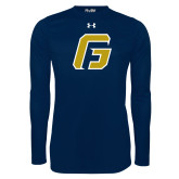 Under Armour Navy Long Sleeve Tech Tee-G