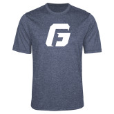 Performance Navy Heather Contender Tee-G