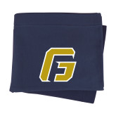 Navy Sweatshirt Blanket-G