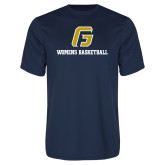 Syntrel Performance Navy Tee-Basketball-Women's