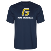 Performance Navy Tee-Basketball-Men's