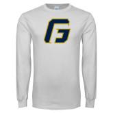 White Long Sleeve T Shirt-G